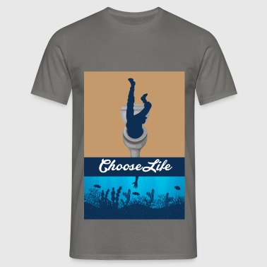 ChooseLife - Männer T-Shirt