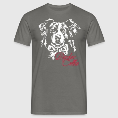 Border Collie - T-shirt Homme