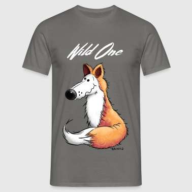 Wild Fox - Foxes - Animal - Animals - Comic - Men's T-Shirt