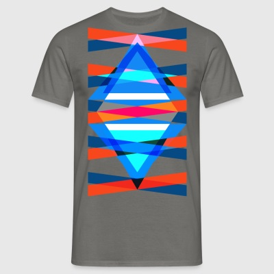 TMH - structure de triangle triangulaire - T-shirt Homme