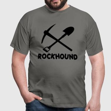 Rock Hound Rockhound - Men's T-Shirt