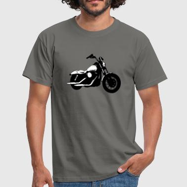 Cruiser Motorcycle - Men's T-Shirt