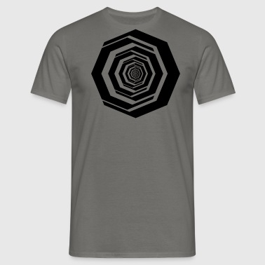 ABSTRACT - Herre-T-shirt