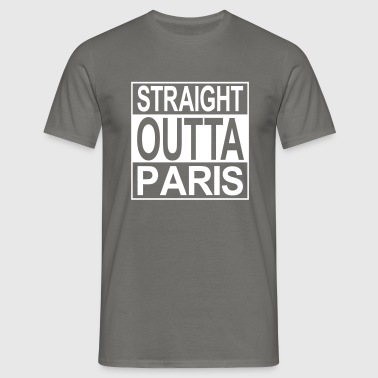 Straight outta Paris - T-shirt Homme