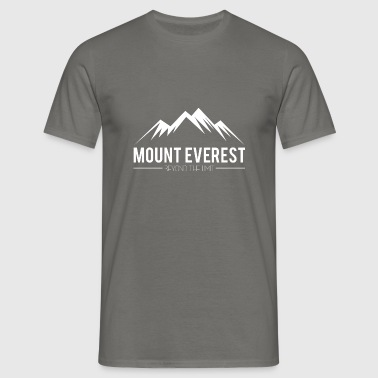 Mount Everest Beyond the Limit - Mannen T-shirt