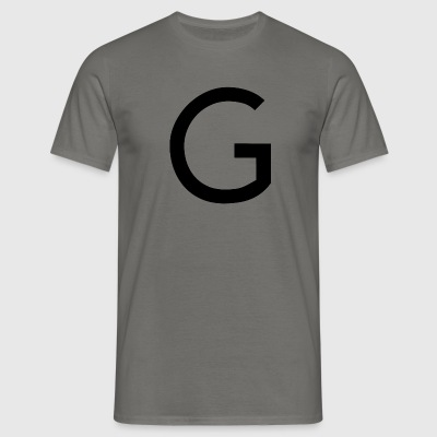 alphabet G - Men's T-Shirt