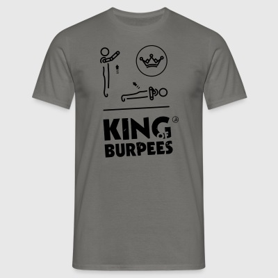 King of Burpees - T-shirt Homme