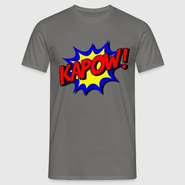 kapow - Men's T-Shirt