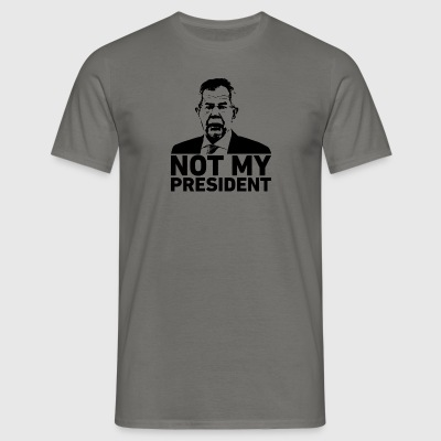 Not my president! Van der Bellen! - Men's T-Shirt