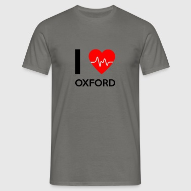 I Love Oxford - I love Oxford - Men's T-Shirt