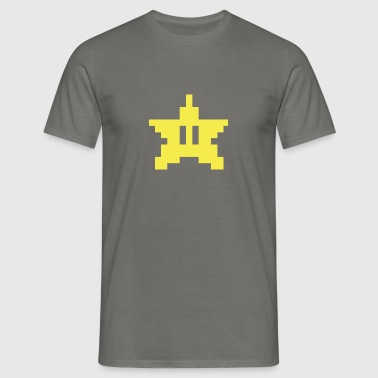 Pixel star - Men's T-Shirt