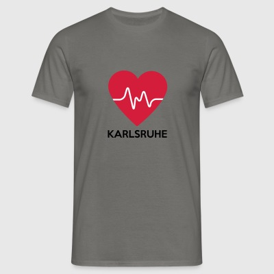 Heart Karlsruhe - Men's T-Shirt