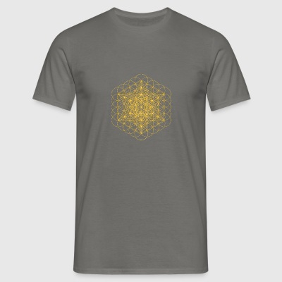metatrons cube - Men's T-Shirt