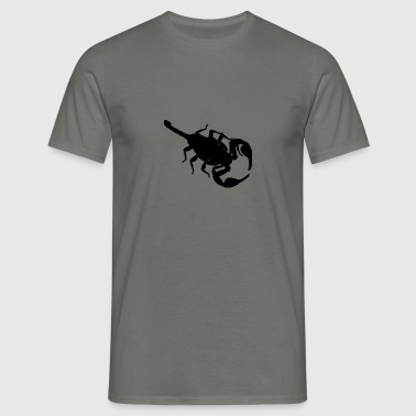 skorpion - T-shirt herr