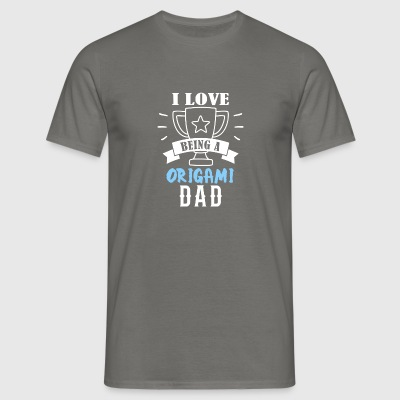 Origami father - Men's T-Shirt