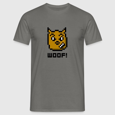 WOOF! - Men's T-Shirt