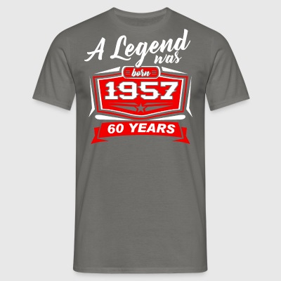 Legends blev født i 1957. T-shirt - Herre-T-shirt