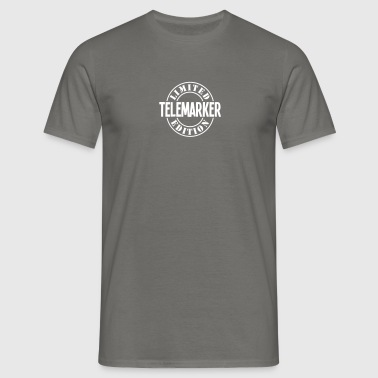 telemarker limited edition stamp copy - Men's T-Shirt