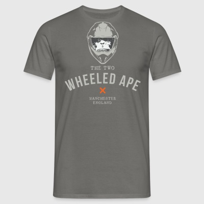 Two Wheeled Ape Biker T-shirt - Men's T-Shirt