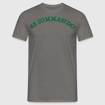 45 Commando - Mannen T-shirt