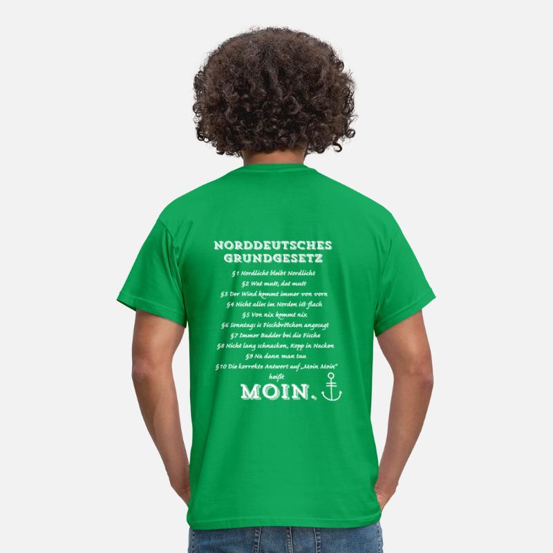 Norddeutsches Grundgesetz Männer T Shirt Spreadshirt