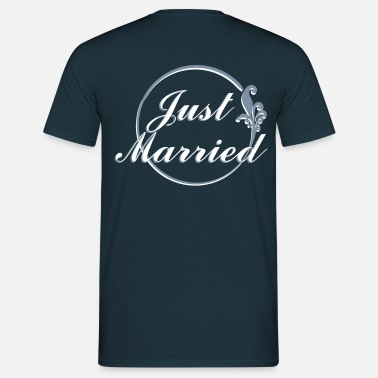 Just just married - Maglietta da uomo