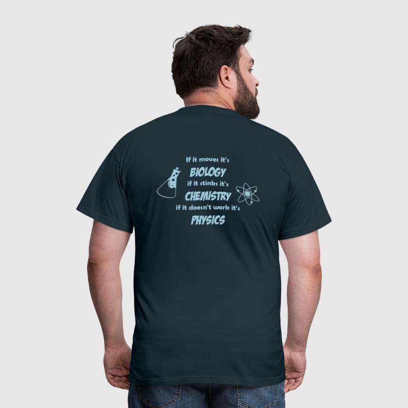 Biology, Chemistry and Physics - T-shirt Homme