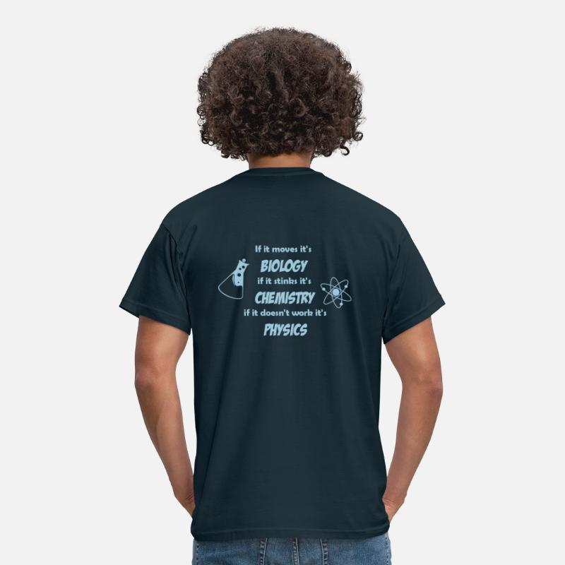 Science T-shirts - Biology, Chemistry and Physics - T-shirt Homme marine