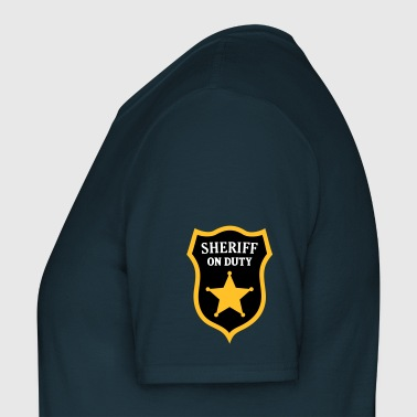 Sheriff on Duty officier - Mannen T-shirt