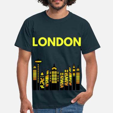 Highrise Building LONDON CITY - Men's T-Shirt