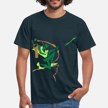 Archery Archer Shooting Arrow – Sport Club - Men's T-Shirt