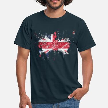 British splatter_england - Men's T-Shirt