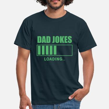 Joke Dad funny saying dad joke dadjoke dad joke - Men's T-Shirt