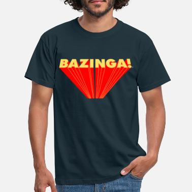 Bang The Big Bang Theory Bazinga Teenage T-Shirt - T-shirt mænd