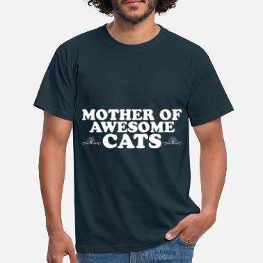 Mothers Day Mommy Cat Mothers Day Valentine's Day Proud Mommy Cat - T-shirt herr