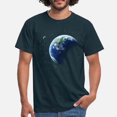 Space Earth - Men's T-Shirt