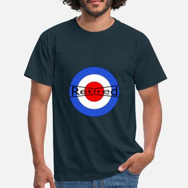 Red White And Blue Retired Red White Blue - Men's T-Shirt