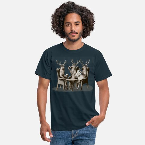 Bestsellers Q4 2018 T-shirts - Stag Party - T-shirt Homme marine