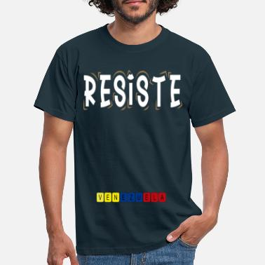 Resist Venezuela 02 - Men's T-Shirt