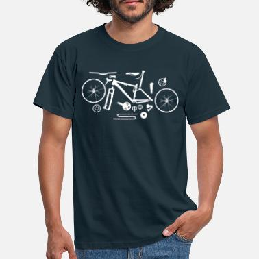 Bike Mountainbike Kit - Männer T-Shirt