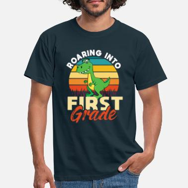 Gång Roaring Into First Grade - T-shirt herr