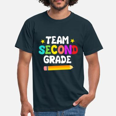 First Day Of School Team 2nd grade - Men's T-Shirt