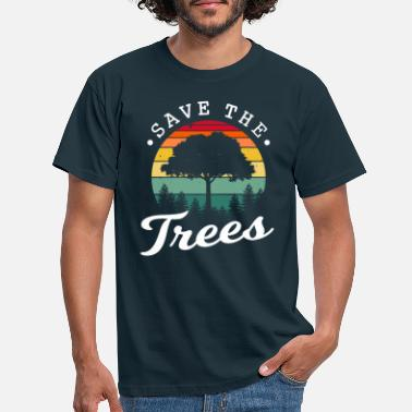 Trees Save the trees - Men's T-Shirt