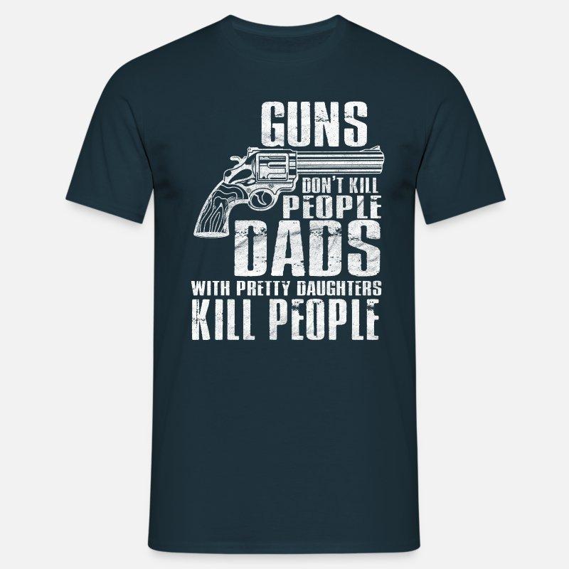 Pappa pene døtre T skjorte for menn | Spreadshirt