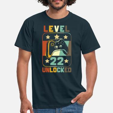 Unlock Level 22 Unlocked - Men's T-Shirt