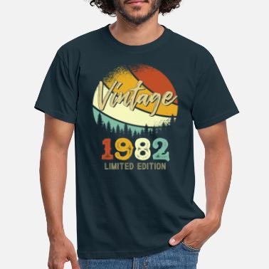 Geboren In Vintage 1982 Limited - Männer T-Shirt
