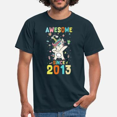 Since Awesome Since 2013 - Männer T-Shirt
