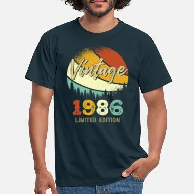 Best Of Vintage 1986 Limited - Männer T-Shirt