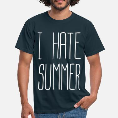 Hate I hate summer (1c) - Men's T-Shirt
