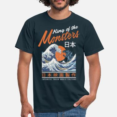 Tsunami King of the Monsters Light - Männer T-Shirt